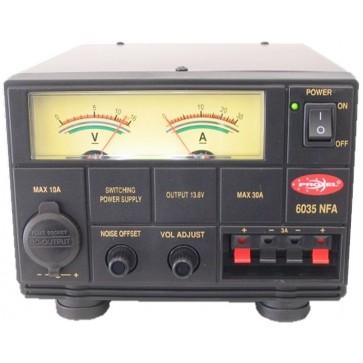 """Proxel Alimentatore """"Switching"""" Regolabile 9-16V Con Strumenti 30/35A NFA"""