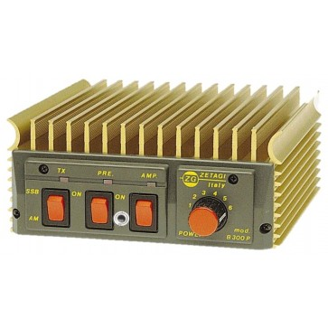 Zetagi Amplificatore Transistor  20-30 MHz 200W/AM 400W/SSB 12V
