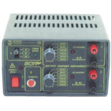 Zetagi Carica Batterie con Scarica per Modellismo 2 Uscite