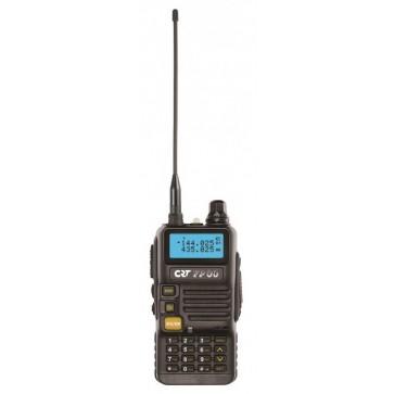 CRT Dual Band VHF 144-146MHz / UHF 430-440MHz, 128ch, Potenza 5/1Watt, tone, shift, DTMF