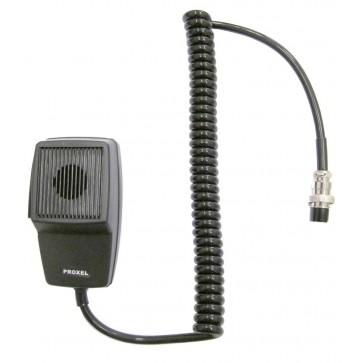 Proxel Microfono Connettore 4  Poli Alan, Cavo In Gomma. Nuova Versione 2016