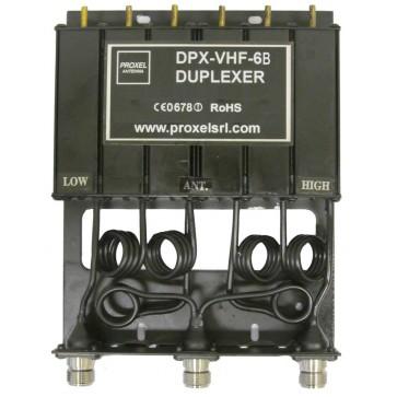 Proxel Duplexer 136-156 MHz Connettore N, da 6 Cavità, 4,60MHz, 30W