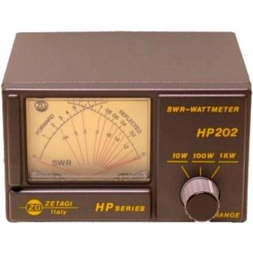 Zetagi Rosmetro e Wattmetro 26-30 Mhz con Strumento Aghi Incrociati