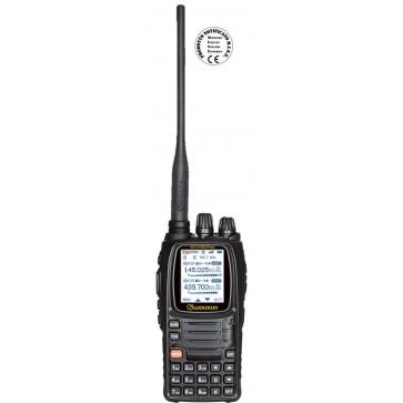Wouxun Versione Plus, Duplex VHF 144-146MHz / UHF 430-440MHz + RX AIRBAND - RX 7 Bande