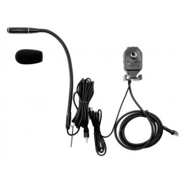 Proxel Kit Vivavoce Con PTT e Microfono, Connettore 8 pin RJ45 per YAESU