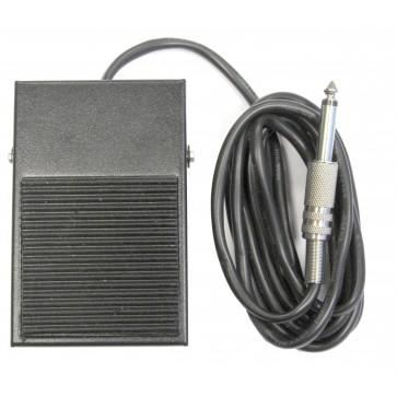 PTT a Pedale In Metallo Per Serie PJD-AD1 e Cuffia PJD-HL PRO Con Cavo Da 2 Mt, Connettore 6,3mm