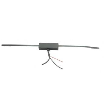 Proxel Antenna Autoradio AM/FM Amplificata a Vetro da Interno