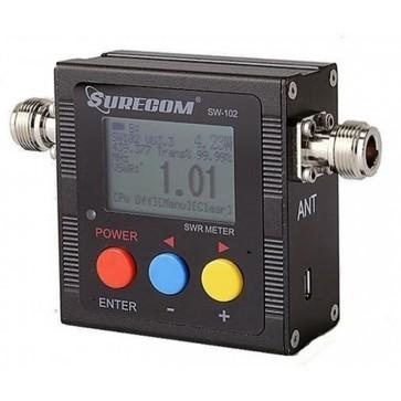 Surecom Frequenzimetro & Rosmetro/Wattmetro Digitale VHF/UHF 125-520MHz