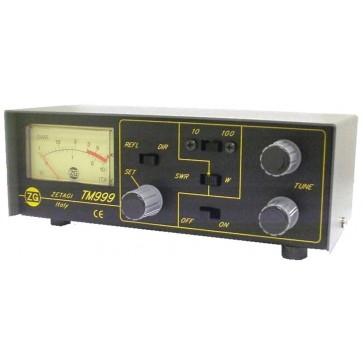 Zetagi Transmatch 26-28MHz 100W AM Rosmetro Wattmetro ed Antenna Matcher