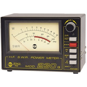 Zetagi Rosmetro E Wattmetro 2-30 Mhz 20-200-2000w