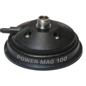Sirio Base POWER MAG 100 PL Ø 100mm, cavo 3,6mt con PL259, guarnizione in gomma