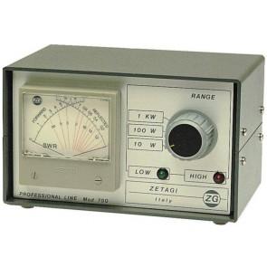 Zetagi Rosmetro E Wattmetro 2-30 Mhz 120-500 Mhz Strumento Aghi Incrociati