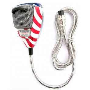 Astatic Flag Edition (DX1): Noise Canceling, Cavo Inox Flessibile