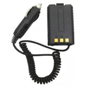 Baofeng Eliminator Pacco Batteria Vuoto con Cavo di Alimentazione per BF-UV5R/R+, BF-UV9R+HP (potenza max supportata 5W)