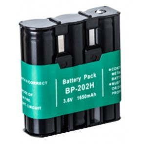 Malcott's Batteria Compatibile per Icom 4008AFRS 4088 SE/R, MAGGIORATA    - 3,6V 1650mah Ni-Mh