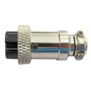 Proxel Connettore Microfonico Circolare 4 Pin Femmina Volante