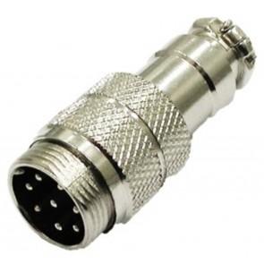 Proxel Connettore Microfonico Circolare 8 Pin Maschio Volante