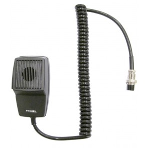 Proxel Microfono Connettore 6  Poli President / Midland , Cavo In Gomma