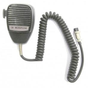 Proxel Microfono con PTT High Quality, Connettore 4 Poli Alan, Cavo In Gomma