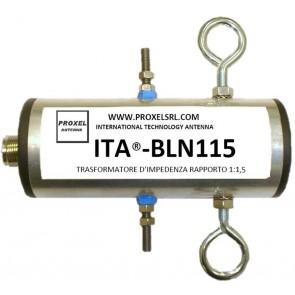 ITA® Balun Rapporto 1:1,5 con coppia di Isolatori ITA®-ISO in dotazione