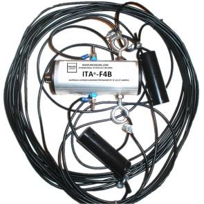 """ITA® Antenna Filare """"Conrad Windom"""" 7/14/27/28 & 50Mhz, con Isolatori, 20mt"""