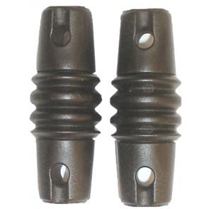 ITA® Coppia di Isolatori per Antenne Filari in resina termoplastica PA6