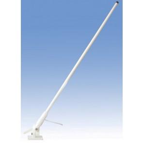 Proxel VHF Nautica Fiberglass, Cavo 5mt, Altezza 130cm + PA-3E in Dotazione
