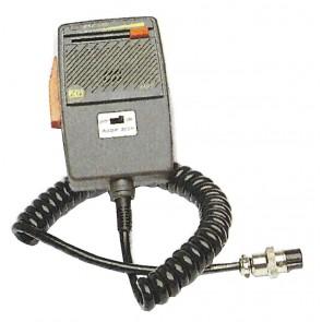 Zetagi Microfono Da Palmo Preamplificato con Regolazione Volume e Roger Beep