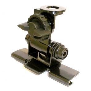 Proxel Supp. a Baule/Cofano/Portiera Inox Black Regolabile in 3 Sensi, Foro 16mm