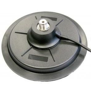 Proxel Base Mag. Attacco PL, Ø 175mm, Guar.gomma, con cavo e connettore PL259
