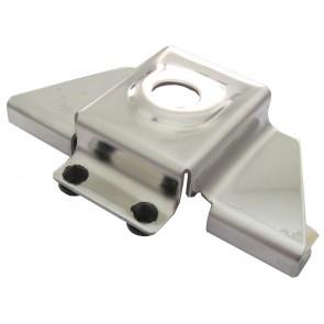 Proxel Supporto Ribassato a Baule e Cofano In Acciaio Cromato, Foro 16mm