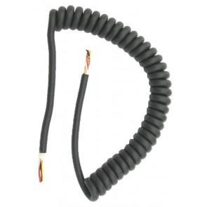 Proxel Cavo Microfonico Universale di Ricambio 6 Poli (5+Schermo), Spiralato