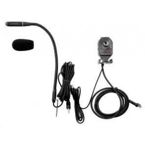 Proxel Kit Vivavoce Con PTT e Microfono, Connettore 8 pin RJ45 per KENWOOD