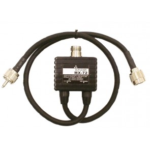Proxel Duplexer 1.6-30/140-150/400-450, Isol 60dB Conn PL (Vhf) N (Uhf)