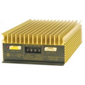 Zetagi Riduttore di Tensione Switching da 24V a 12V 30A Autoprotetto