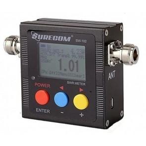 Surecom Frequenzimetro & Rosmetro/Wattmetro Digitale VHF/UHF 100-520MHz