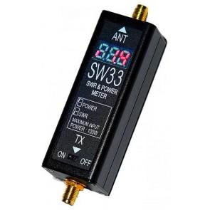 Surecom Mini Rosmetro/Wattmetro Digitale VHF/UHF 100-520MHz