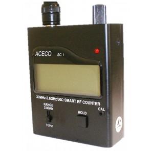 Frequenzimetro 30MHz-2,8Ghz, 7 Digit, Barra Grafica 16 elementi, con Vibrazione