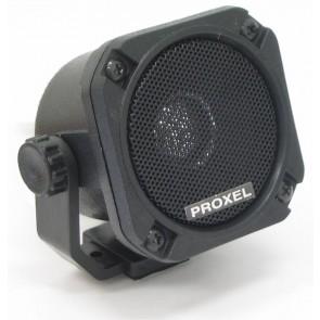 Proxel Altoparlante Quadrato Inclinabile 8Ω, Dimensioni L65xH65xP70, con Staffa